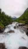 Fiume di Trollstigen Fotografia Stock Libera da Diritti