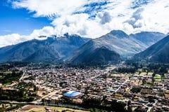 Fiume di Urubamba nel Perù Fotografia Stock Libera da Diritti