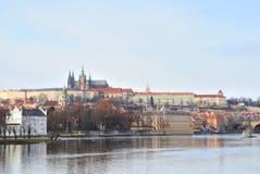 Fiume di Vltava immagini stock libere da diritti