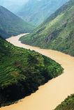 Fiume di Yangtse Fotografia Stock Libera da Diritti