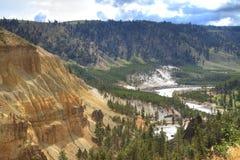 Fiume di Yellowstone Immagine Stock