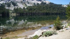 Fiume di Yosemite Fotografia Stock
