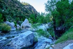 Fiume di Yosemite Immagine Stock Libera da Diritti