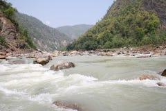Fiume Ganga, il Ganges Fotografia Stock Libera da Diritti