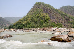 Fiume Ganga, il Ganges fotografie stock libere da diritti
