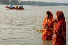 Fiume indiano Fotografia Stock Libera da Diritti