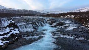 Fiume in Islanda Fotografie Stock Libere da Diritti