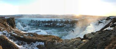 Fiume in Islanda Fotografia Stock