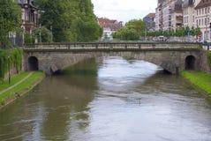 Fiume malato Strasburgo Fotografie Stock Libere da Diritti