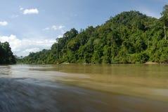 Fiume in Malesia fotografia stock libera da diritti