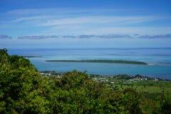 Fiume Mauritius del nero di giro immagine stock