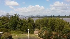 Fiume Mississippi fotografie stock libere da diritti