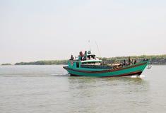 Fiume Myanmar di Irrawaddy fotografie stock libere da diritti