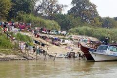 Fiume Myanmar di Irrawaddy immagini stock