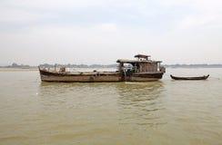 Fiume Myanmar di Irrawaddy fotografia stock