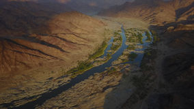 fiume in Namibia Fotografia Stock Libera da Diritti