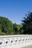 Fiume nel Central Park fotografie stock libere da diritti