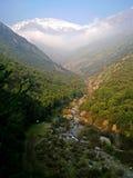 Fiume nelle montagne Fotografie Stock Libere da Diritti