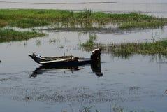 Fiume Nilo Fotografie Stock Libere da Diritti