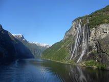 Fiume in Norvegia Immagine Stock Libera da Diritti