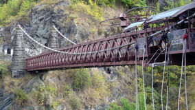 Fiume Queenstown di Kawerau del canyon dei capitani Fotografia Stock Libera da Diritti
