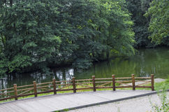 Fiume, riva del fiume, acqua, viaggio, giorno, posizioni, acqua, estate Fotografie Stock Libere da Diritti