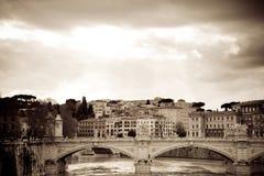 Fiume Roma Fotografia Stock