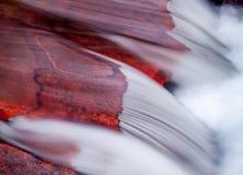 Fiume Rosso della st Vrain Ruby, Lione CO Fotografia Stock Libera da Diritti