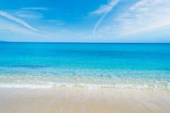 Fiume Santo海岸线在春天 免版税库存照片