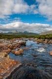 Fiume scozzese dell'altopiano Immagine Stock Libera da Diritti