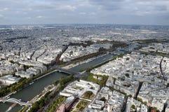 Fiume Seine a Parigi Fotografie Stock Libere da Diritti