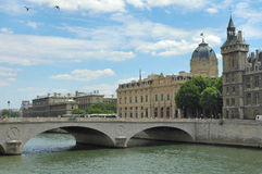 Fiume Seine - Parigi Fotografia Stock Libera da Diritti