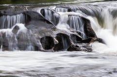 Fiume selvaggio e scenico di Chattooga Fotografia Stock