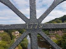 Fiume Severn di Ironbridge immagine stock libera da diritti