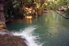Fiume - Sillans-La-cascata - la Francia Immagine Stock