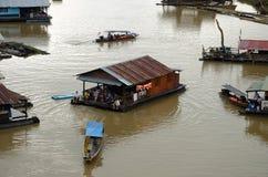 Fiume Songaria in Tailandia Immagine Stock Libera da Diritti