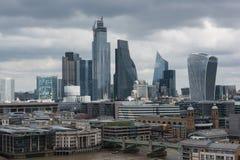 Fiume Tamigi Londra immagini stock
