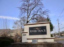 Fiume Trace Apartment Homes, Memphis, TN immagine stock