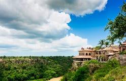 Fiume tropicale Chavon nella Repubblica dominicana Immagine Stock