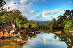 Fiume tropicale Masoala Fotografie Stock Libere da Diritti