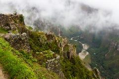 Fiume Urubamba della montagna Immagini Stock Libere da Diritti