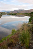Fiume Washington State Outdoors di Pend Oreille di riflessione del cielo di Shoreline Fotografie Stock Libere da Diritti