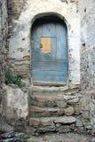 Fiumefreddo door. A old door in the historic town of fiumefreddo del bruzio in south italy stock images