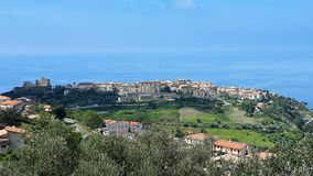 Fiumefreddo bruzio - Calabria - Italia. Fiumefreddo view - Landscape Cosenza - region Calabria - Italy royalty free stock photography