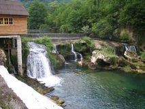 fiumi in Bosnia Fotografia Stock
