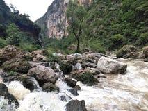 Fiumi del Chiapas fotografia stock
