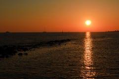Fiumicino Ιταλία Στοκ φωτογραφία με δικαίωμα ελεύθερης χρήσης