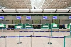 Fiumicino Airport interior Royalty Free Stock Photo