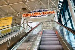 Fiumicino Airport interior Royalty Free Stock Image