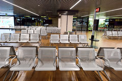 Fiumicino Airport interior Stock Photos